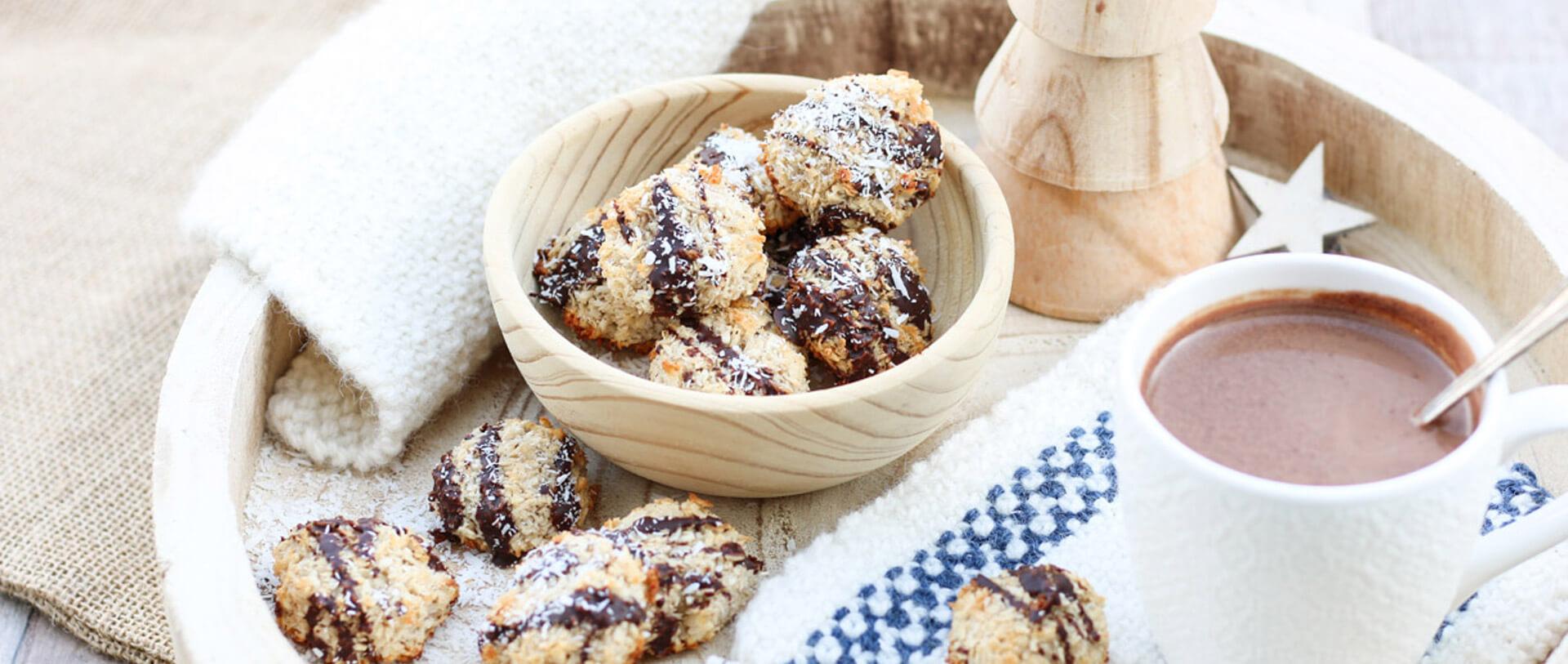 Gesunde Kokosmakronen glutenfrei