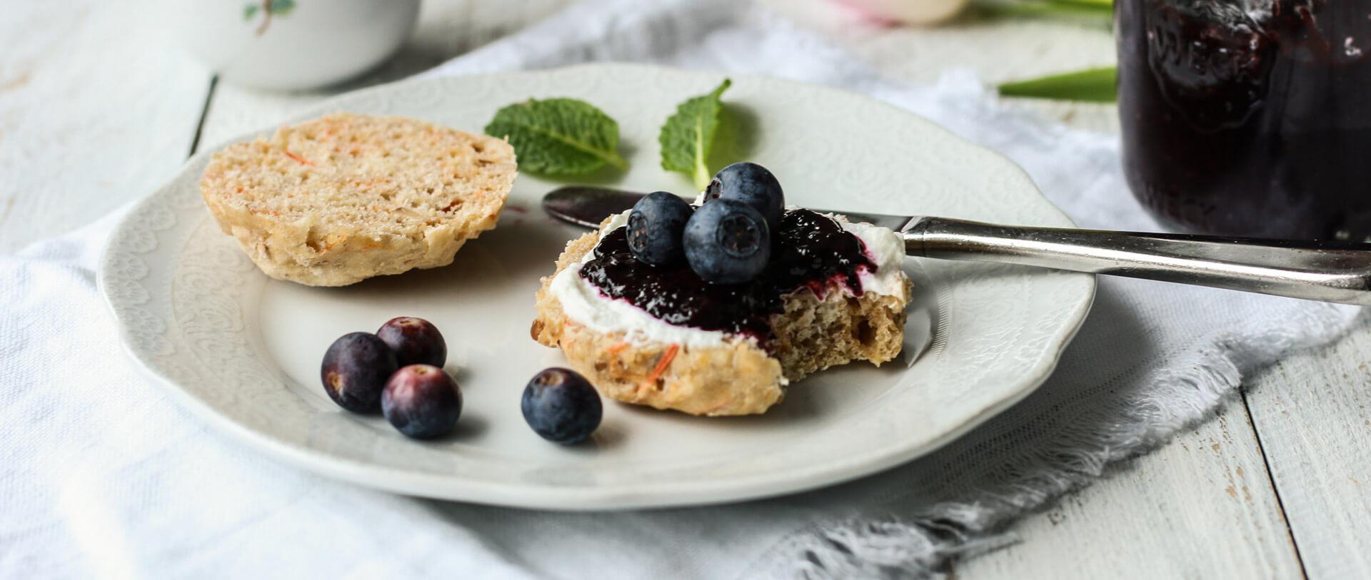 Schnell gemacht und zuckerfrei: Blaubeer-Chia-Marmelade