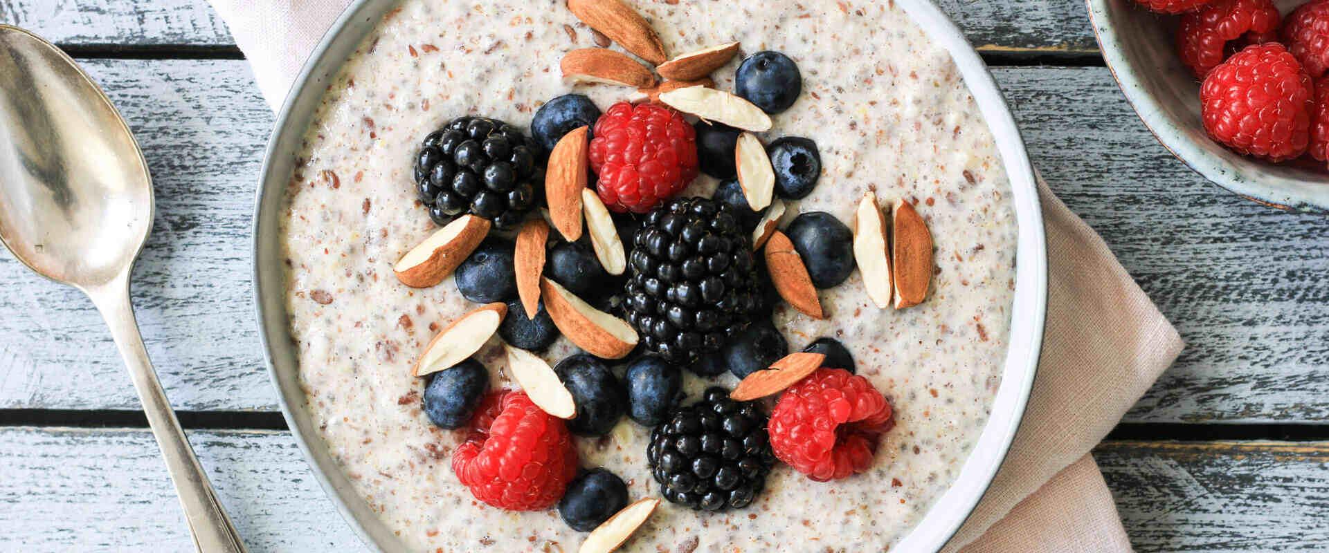 Schlankes Frühstück - Low Carb Protein Porridge