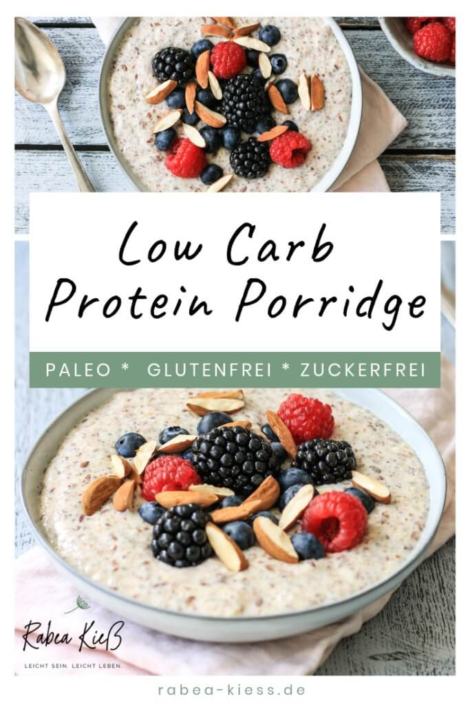 Low Carb Protein Porridge Paleo